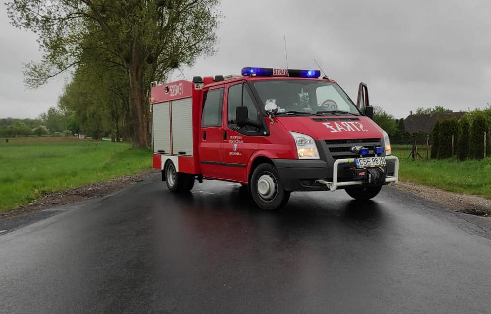 Ochotnicza Straż Pożarna w Sępólnie Krajeńskim przekazuje swój samochód do OSP Wałdowo
