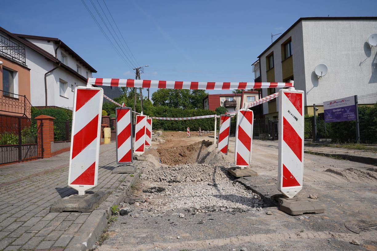 Ruszyła przebudowa ulicy Bema w Człuchowie