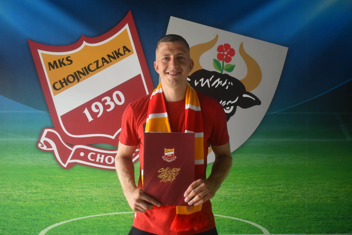 Chojniczanka ma nowego pomocnika i bramkarza. Klub pozyskał Łukasza Wolsztyńskiego i Sebastiana Sobolewskiego