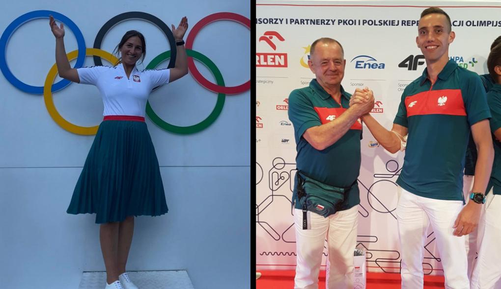 Nasi na Igrzyskach Olimpijskich w Tokio. Rozmawiamy o Magdalenie Kwaśnej i Patryku Dobku