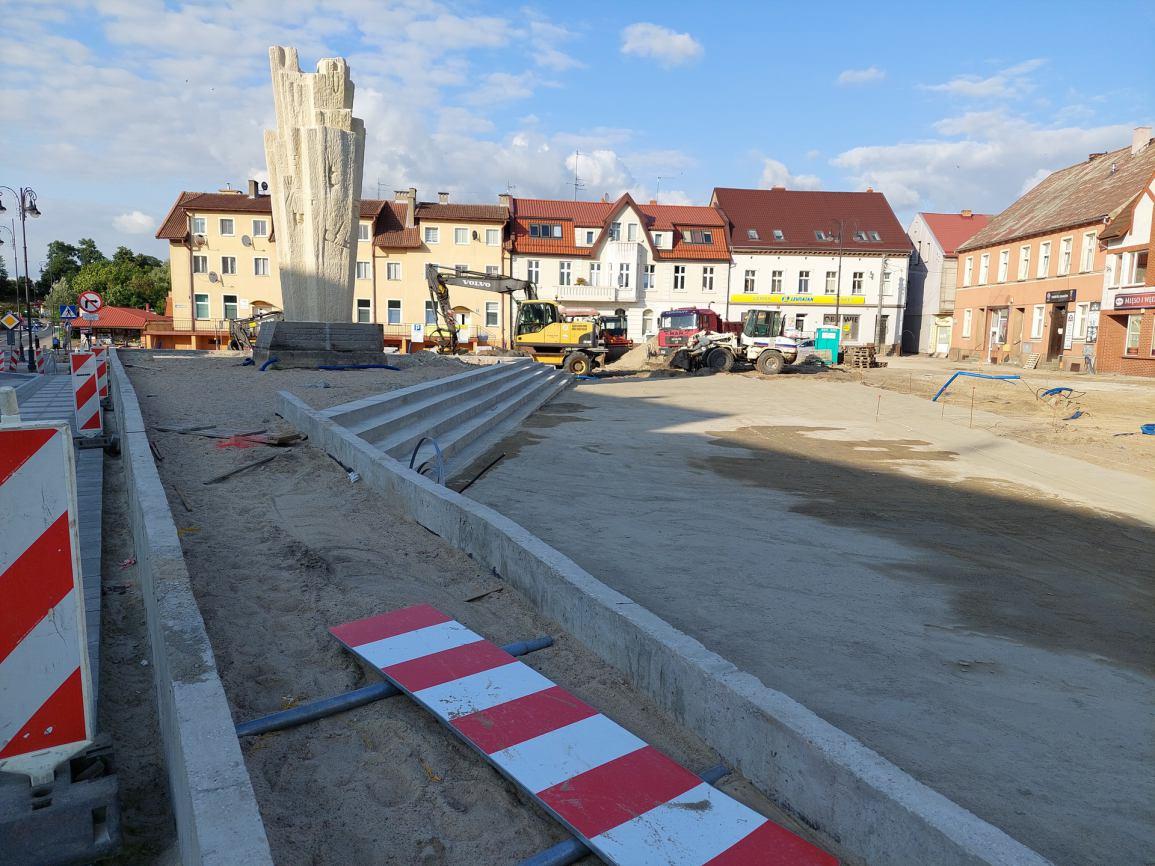 Nie uda się dotrzymać terminu zakończenia rewitalizacji centrum Sępólna Krajeńskiego?