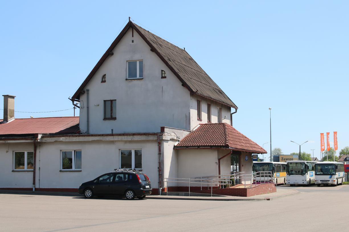 Powiat człuchowski podejmuje drugą próbę sprzedaży bazy Powiatowego Zakładu Transportu Publicznego