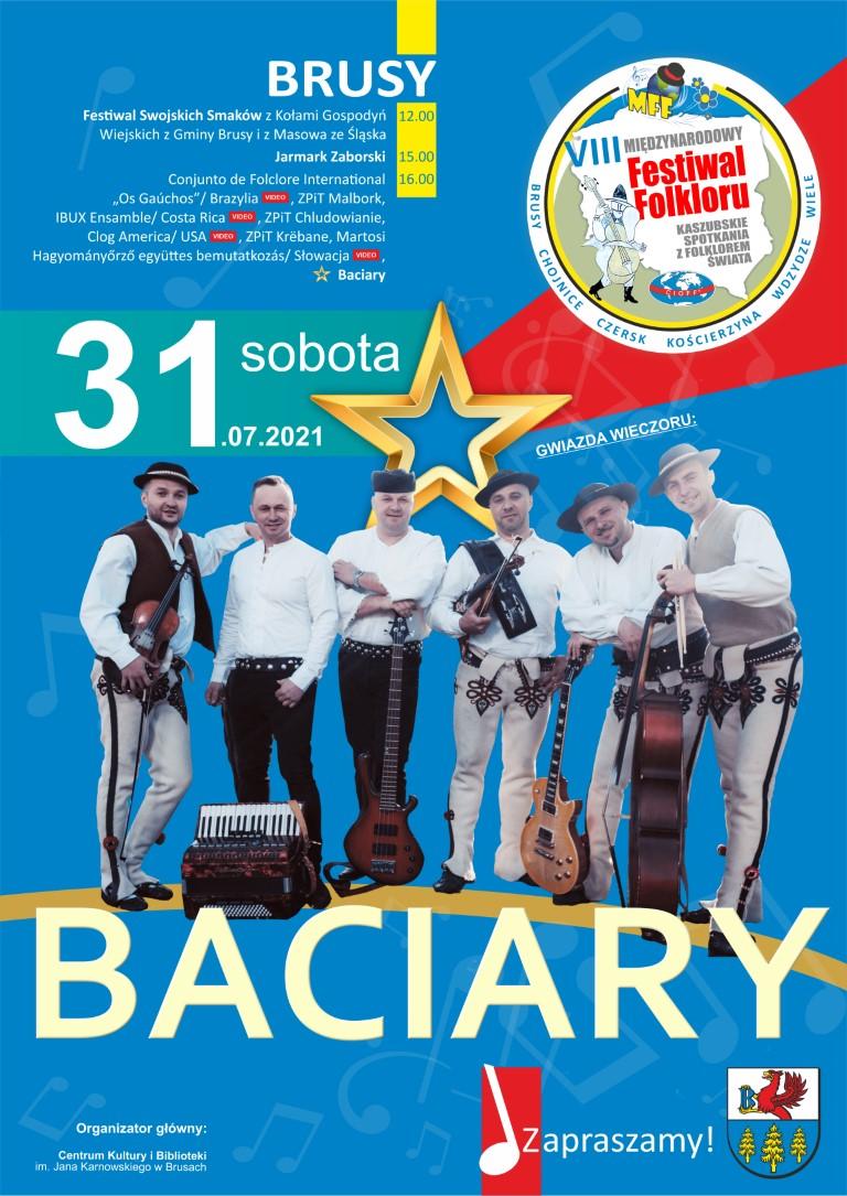 W regionie rusza Międzynarodowy Festiwal Folkloru 2021. Koncerty w kilku miejscowościach