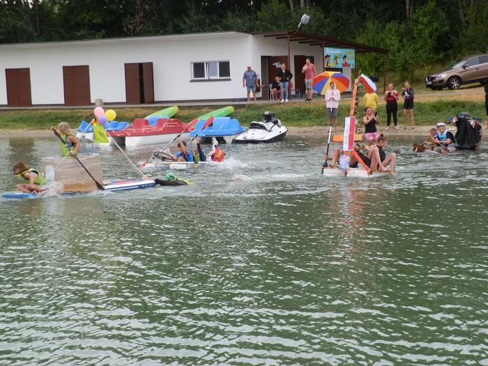 W Człuchowie w sobotę 31 lipca konkurs pływania na bele czem