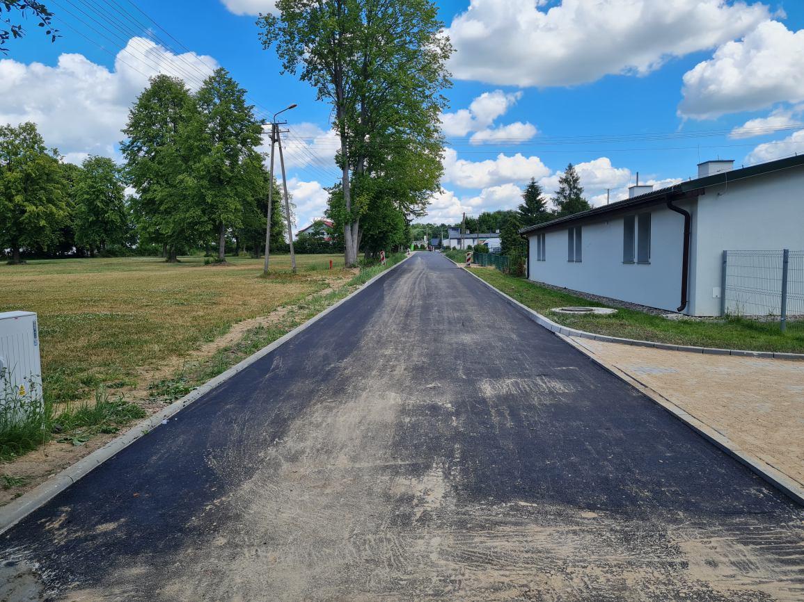 Zakończył się remont ulicy Osiedle Leśne w Sępólnie Krajeńskim. Remont kosztował niecałe 250 tys. zł