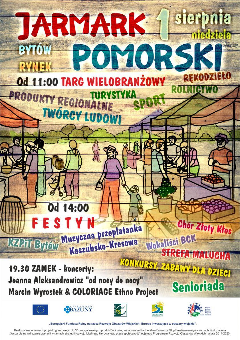 W Bytowie 1 sierpnia odbędzie się Jarmark Pomorski. To promocja rękodzielnictwa i wyrobów lokalnych twórców
