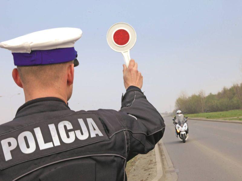 Policyjna akcja Motocykle. Co drugi skontrolowany motocyklista przekroczył dopuszczalną prędkość