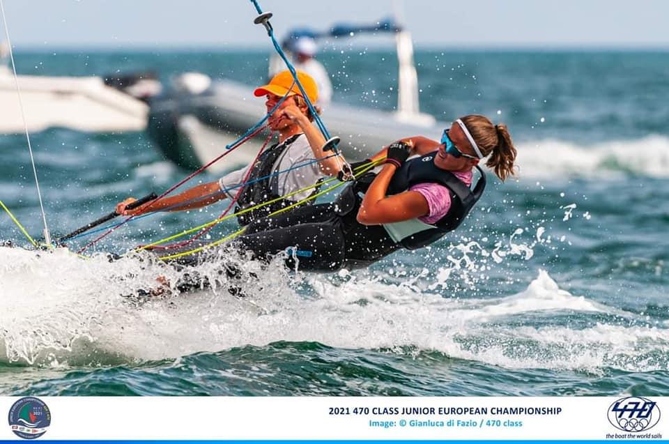 Oliwia Laskowska z Chojnickiego Klubu Żeglarskiego szósta w Mistrzostwach Europy Juniorów w olimpijskiej klasie 470