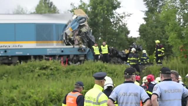 Zderzenie pociągów w Czechach. Ofiary śmiertelne i kilkudziesięciu rannych