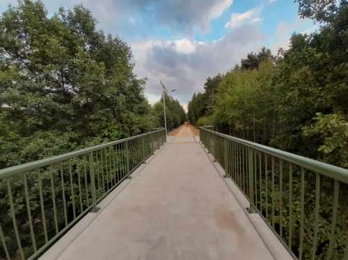 Zakończyła się budowa ścieżki rowerowej prowadzącej z Kościerzyny do Wielkiego Klincza FOTO