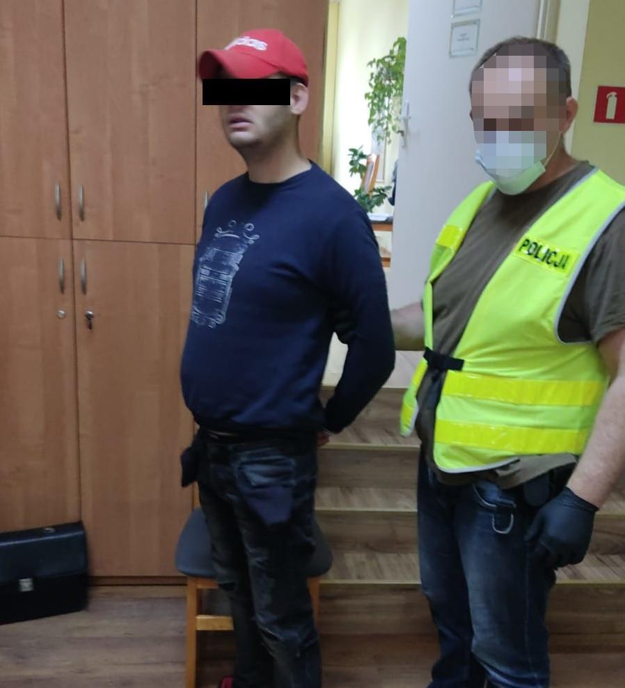 Ukradł rower, a potem okazało się, że w domu ma narkotyki. 25-latek z gminy Śliwice zatrzymany