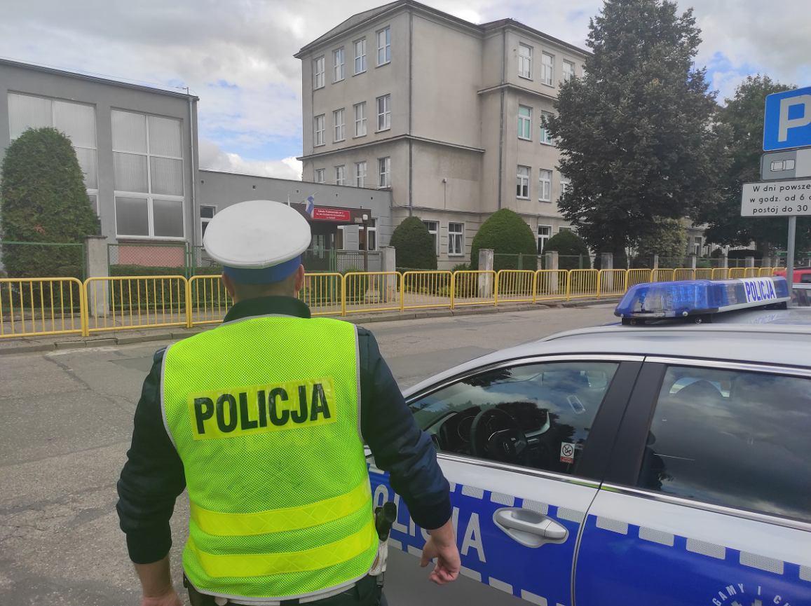 Dziś początek nowego roku szkolnego, więc policja rusza z akcją Bezpieczna droga do szkoły