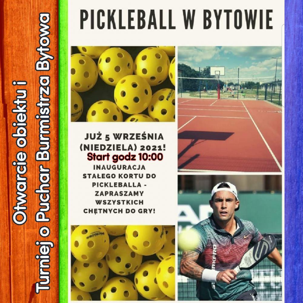 Pierwsze na Pomorzu boisko do gry w pickleball zostanie otwarte jutro 5.09 w Bytowie