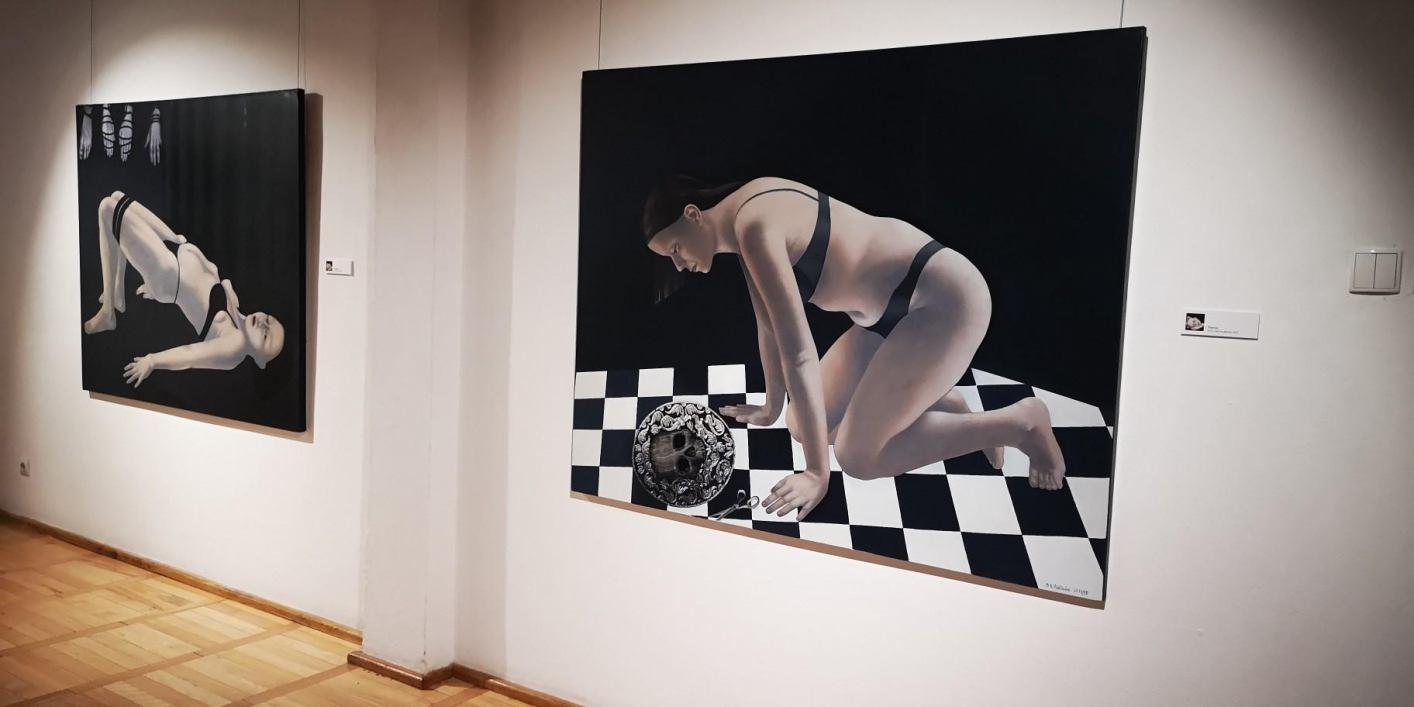 W Muzeum Zachodnio-Kaszubskim na zamku w Bytowie można oglądać wystawę prac malarstwa Beaty Białeckiej