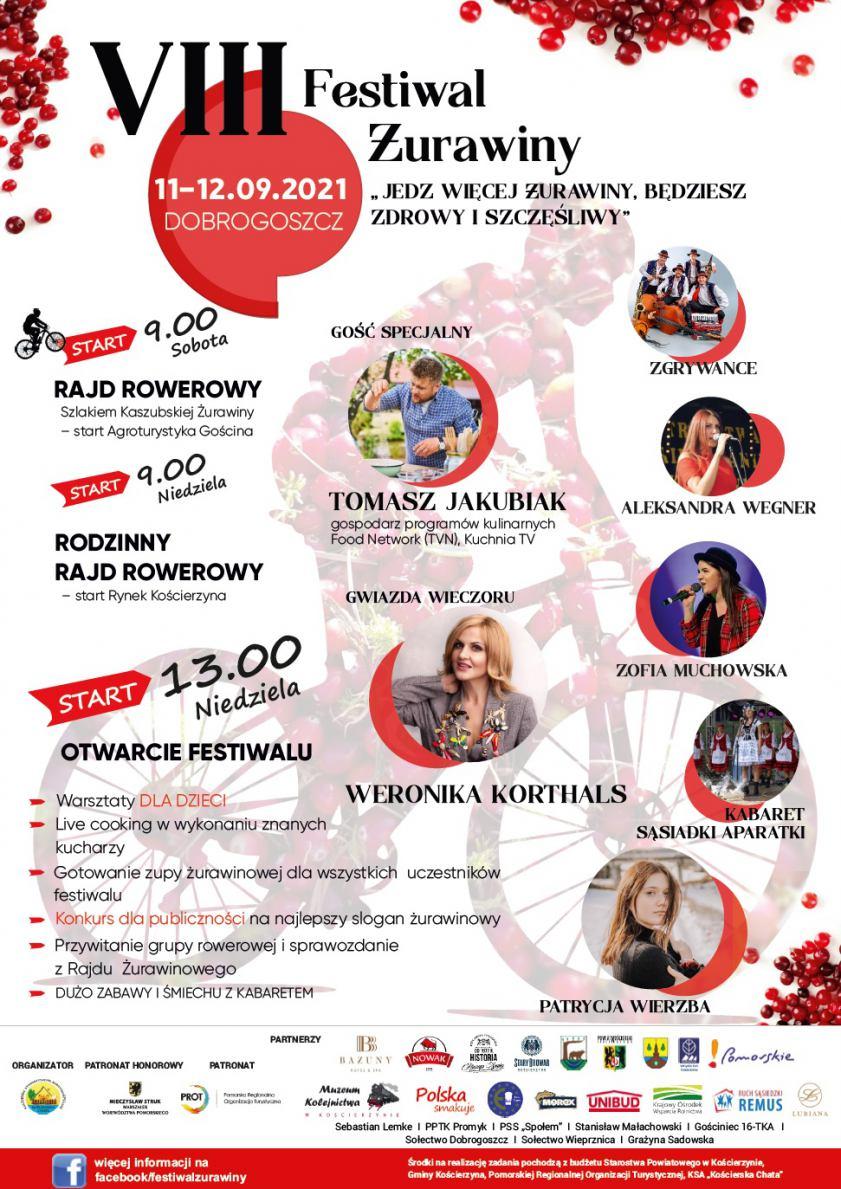 W najbliższy weekend odbędzie się 8. Festiwal Żurawiny w Dobrogoszczy