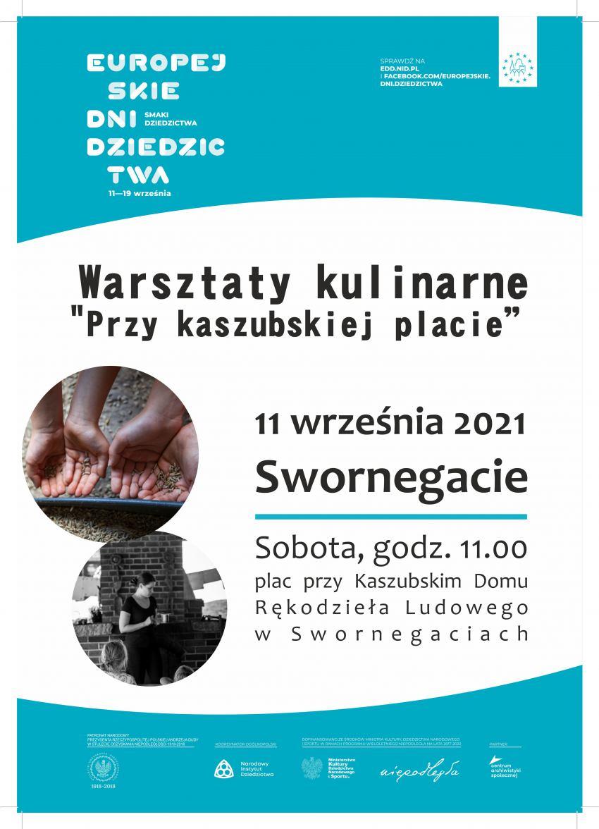 Gminny Ośrodek Kultury w Chojnicach zaprasza na tegoroczne obchody Europejskich Dni Dziedzictwa
