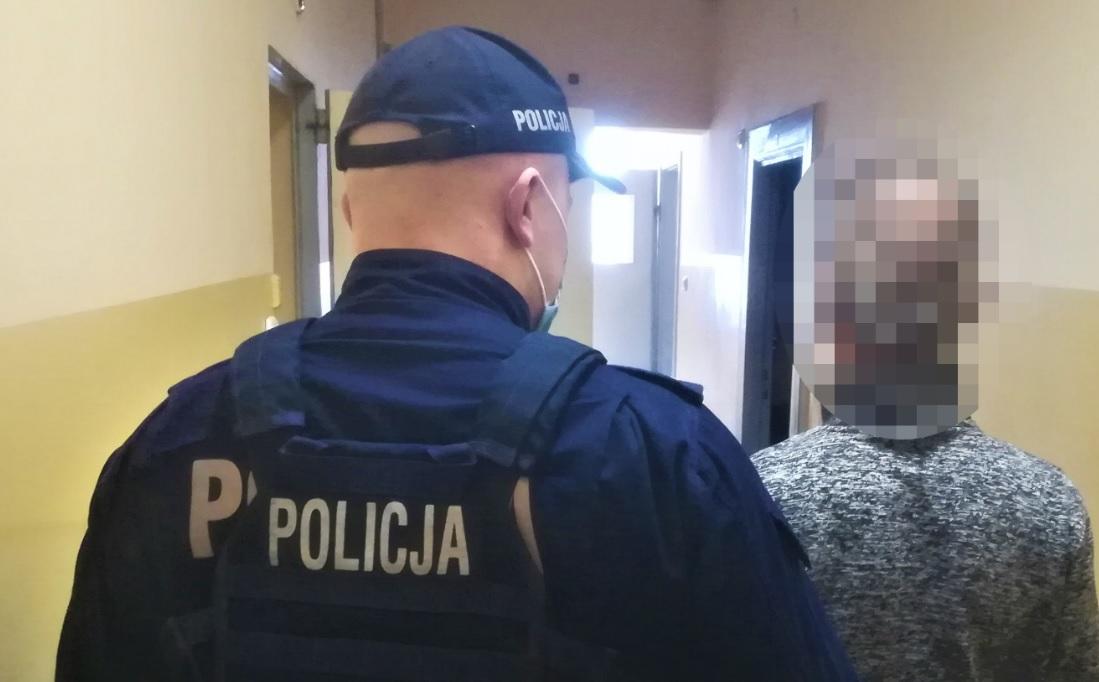 25-letni kierowca audi został zatrzymany przez kościerską policję