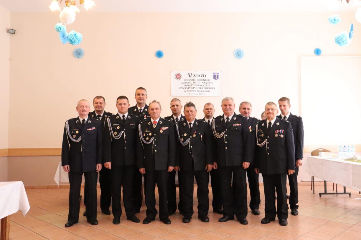 Tobiasz Świniarski został nowym prezesem Zarządu Gminnego Związku Ochotniczych Straży Pożarnych w Sępólnie Krajeńskim