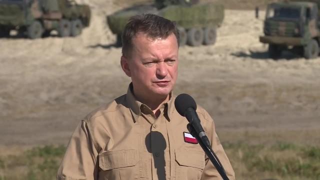 M. Błaszczak o manewrach Zapad Nasi sąsiedzi testują układ odpornościowy NATO