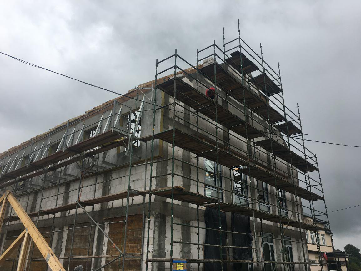 Ponad 5 mln zł ma kosztować budowa nowoczesnego obiektu przy Zespole Szkół w Grabowie Kościerskim FOTO