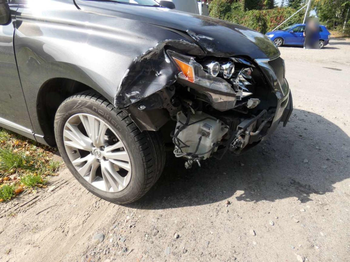 Jedna osoba została ranna po wczorajszym zderzeniu dwóch aut w Kościerzynie