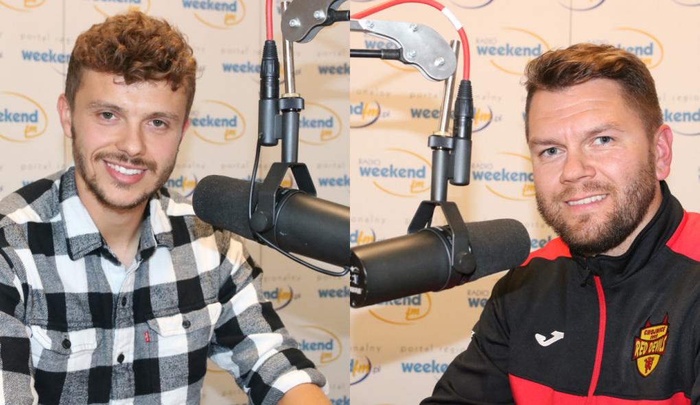Nie tylko o piłce. Michał Mikołajczyk z Chojniczanki i Jakub Mączkowski z Red Devils Chojnice w studiu Weekend FM