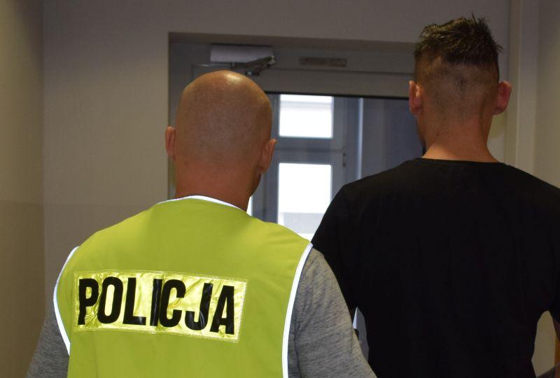 Chojnicka policja zatrzymała mężczyznę podejrzanego o kradzieże i włamania