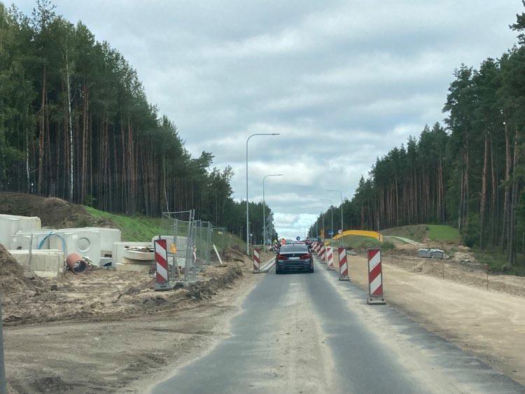 Przedłuża się zakończenie przebudowy drogi krajowej nr 20 na odcinku Korne - Kościerzyna
