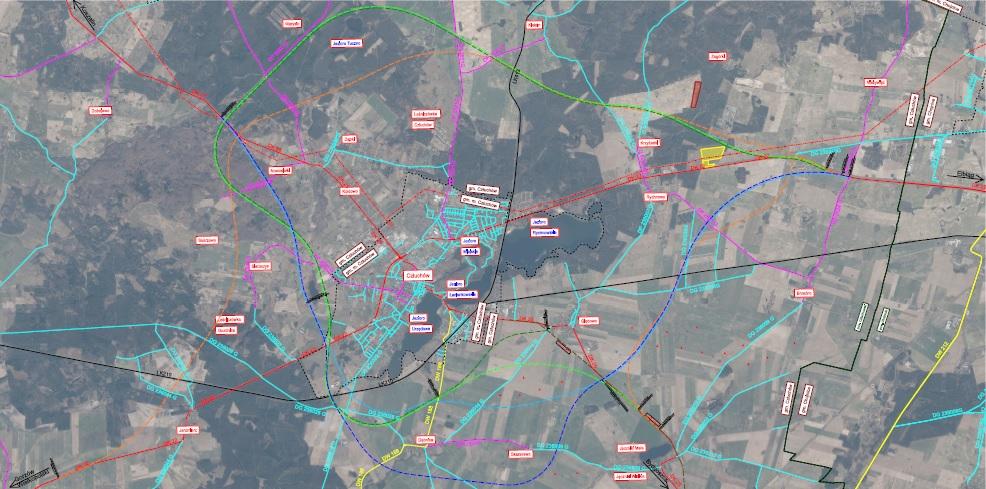 Opublikowano dokładne mapy wariantów przebiegu obwodnicy Człuchowa