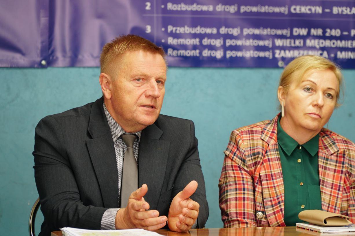 Powiat tucholski aplikuje o 100 mln złotych na inwestycje z rządowych funduszy