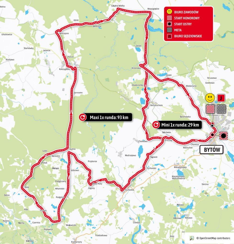 Na drogach powiatu bytowskiego odbędzie się jutro 25.09. wyścig szosowy amatorów Orlen Lang Team Race
