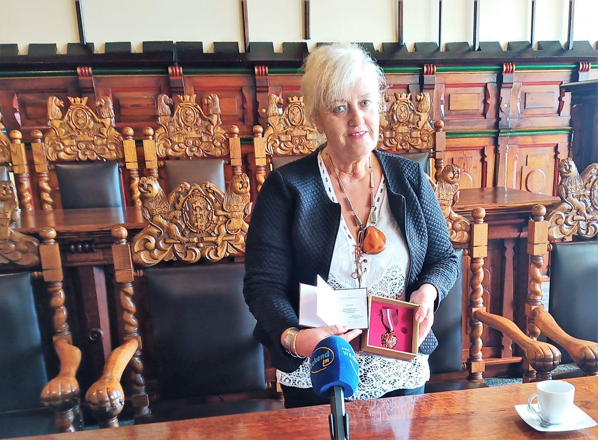 Maria Jolanta Kowalska uhonorowana brązowym medalem Zasłużony Kulturze Gloria Artis