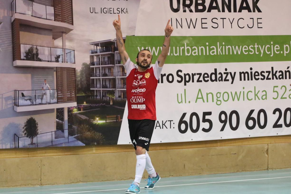 Czerwone Diabły zremisowały 33 wyjazdowy mecz z Futsal Teamem Brzeg. Uważam wynik za sprawiedliwy