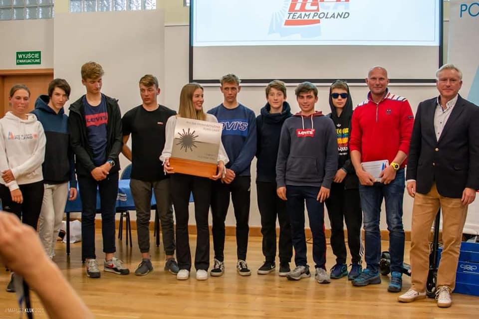 Chojnicki Klub Żeglarski wygrał klasyfikację klubową Pucharu Polskiego Stowarzyszenia Klasy Laser