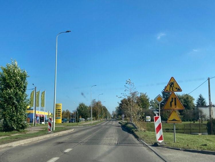 Ruszył remont kolejnego odcinka ulicy Przemysłowej w Kościerzynie