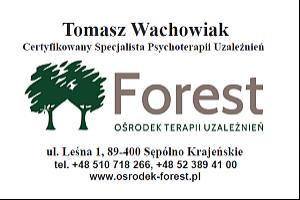 Logo Stacjonarny Ośrodek Terapii Uzależnień FOREST