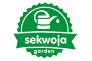 "Logo Kompleksowe Usługi Ogrodnicze ""Sekwoja Garden"""