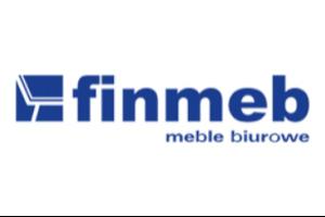 """Logo Firma Handlowo-Usługowa """"FINMEB"""""""