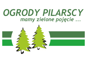Logo Ogrody Pilarscy mamy zielone pojecie