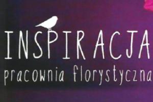 """Logo Kwiaciarnie """"Inspiracja"""""""