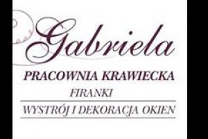 Logo Pracownia Krawiecka GABRIELA