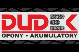 """Logo """"Serwis Opon i Akumulatorów DUDEK"""""""